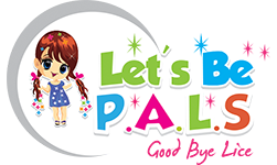 Lice Treatment Let's Be PALS Logo